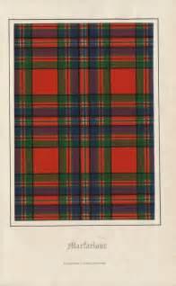 tartan print antique tartan print of clan macfarlane 1860 ancestry macfarlane pinterest tartan