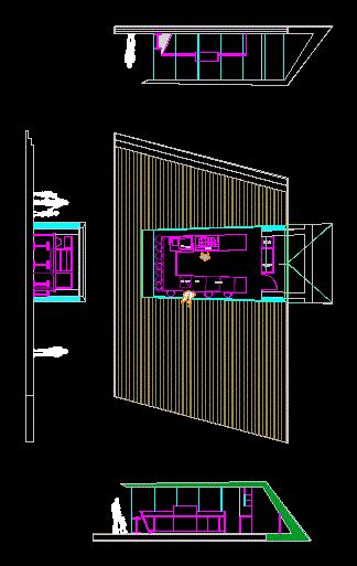 kiosk ice cream dwg block  autocad designs cad