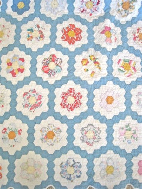 475 best images about hexagon patchwork on pinterest