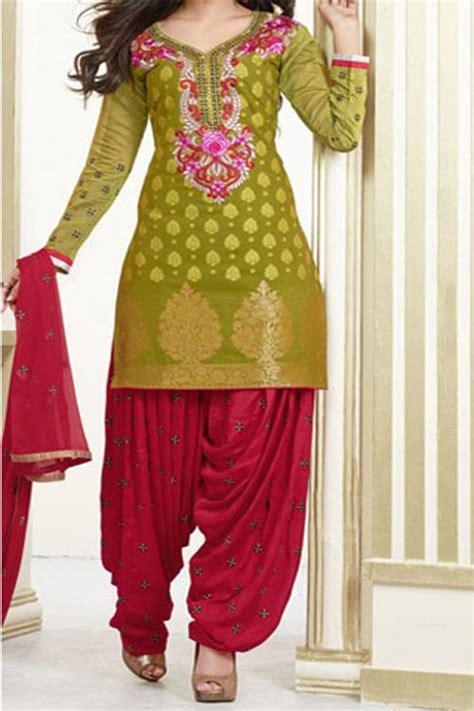 latest patiala salwar kameez suits fashion  neck designs