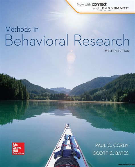 Methods In Behavioral Research 12e 2015 Paul Cozby Bates methods in behavioral research free ebooks