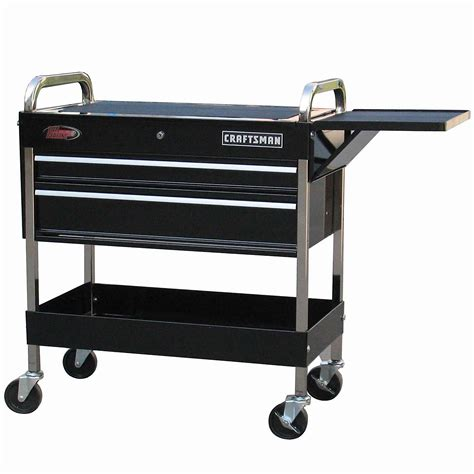 craftsman 59355 43 1 2 quot 2 drawer deluxe mechanic cart