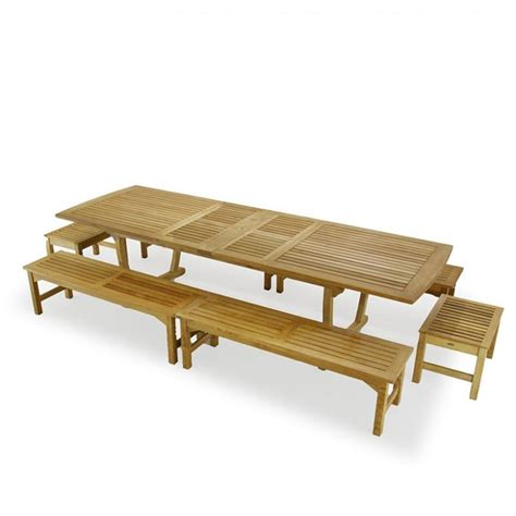 teak picnic table with benches 15 best images about outdoor table on pinterest picnic