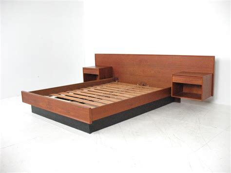 queen size wooden bed frame natural oak wood mid century modern queen size bed frame with wide headboard style