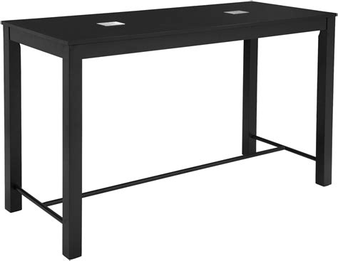 Black Bar Table Odin Black Bar Table From Zuo Coleman Furniture