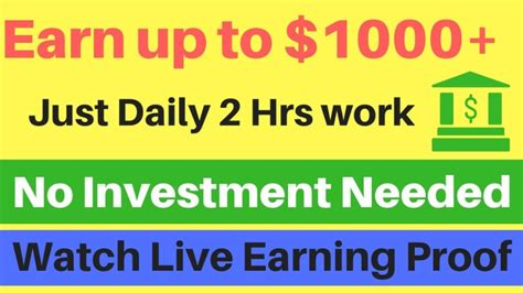 1000 Ways To Make Money Online - earn 1000 from internet most easiest way to make money online in 2017 payment