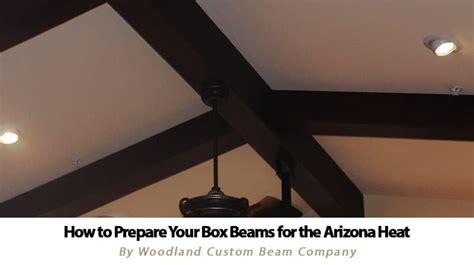 order box beam sles from woodland custom beam company preparing box beams for the arizona heat woodland custom