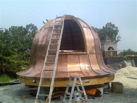 gallery  dome metal roofs fine metal roof tech