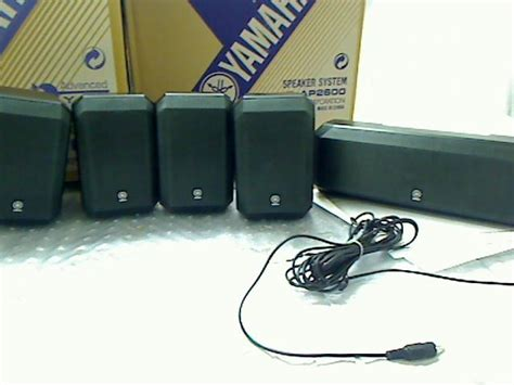 yamaha ns sp1800bl 5 1 channel home theater speaker system