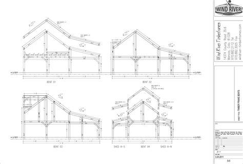 a frame building plans 2018 frame design 187 wind river timberframes