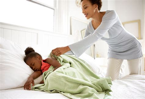 how to get her in bed how can i wake up my child in the morning for school