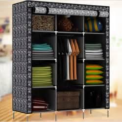 Clothing Shelves For Closet Portable Closet Storage Organizer Wardrobe Clothes Rack