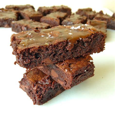 ina garten brownies salted caramel brownies chez cateylou
