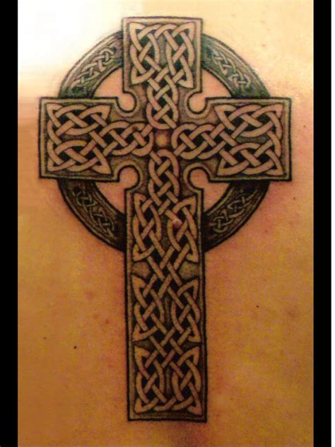 celtics cross tattoo celtic cross tattoos gallery