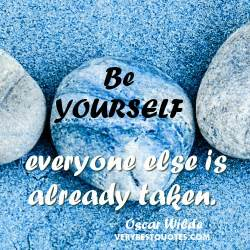 Famous and popular quote on being yourself be yourself