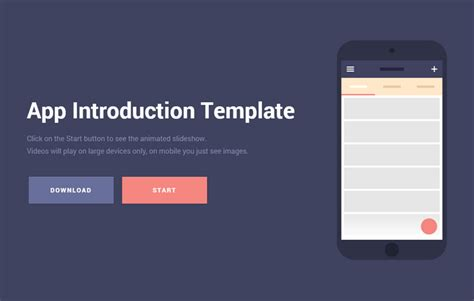 app requirements template free mobile app introduction template web