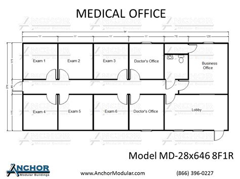 medical office floor plan custom modular building floor plans