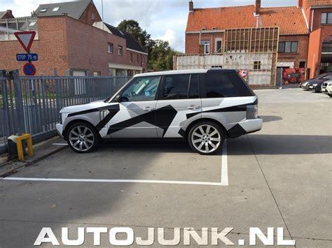 camo range rover range rover camo wrap foto s 187 autojunk nl 126283