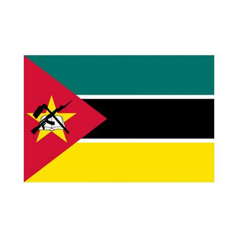 mozambique 3x5 flag polyester flag with 2 grommets on the left side