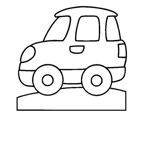 simple coloring pages of cars simple car coloring pages color bros