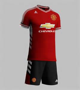 Manchester United Chevrolet Jersey Manchester United Jersey For Season 2015 2016 Sponsored By