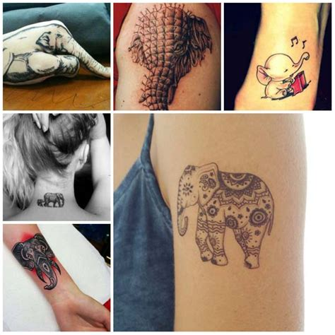 new modern tattoo designs tatuajes de elefante
