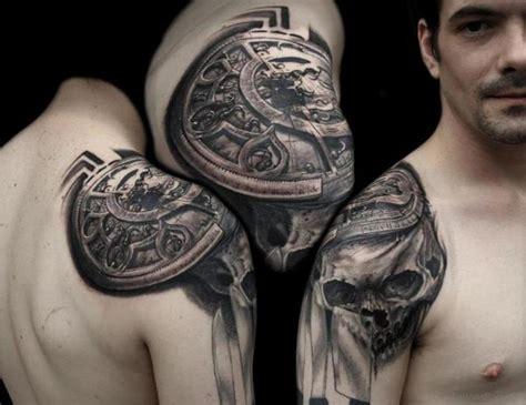 shoulder tattoos for men design pictures 50 amazing compass tattoos on shoulder