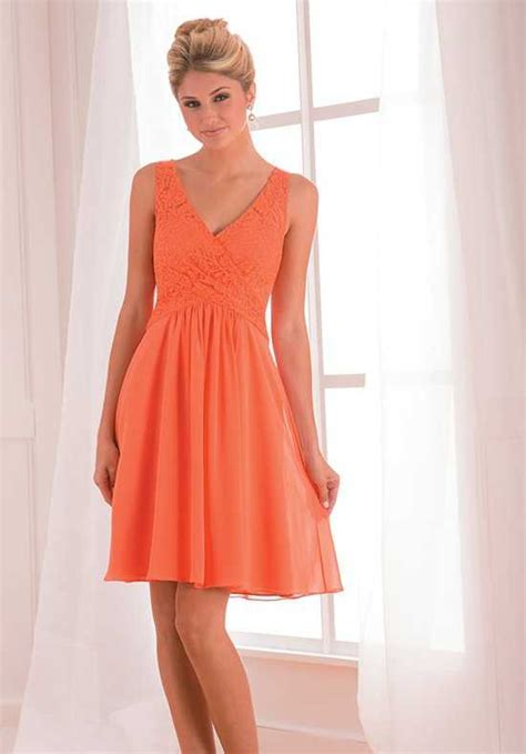 Orange Bridesmaid Dress by Orange Bridesmaid Dresses