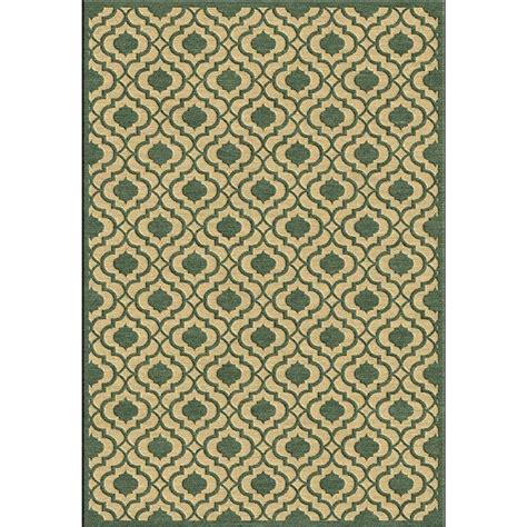 8 x 20 outdoor rug artistic weavers mangiu green 8 ft 8 in x 12 ft indoor outdoor area rug s00151085710
