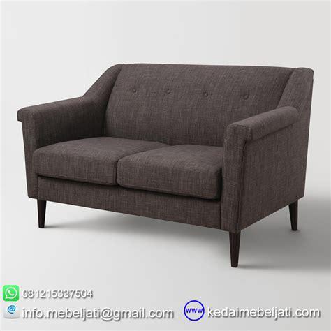 Info Sofa Minimalis beli sofa model minimalis 2 dudukan navarra bahan kayu