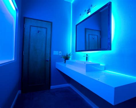 blue led bathroom lights bath lighting led decoration news