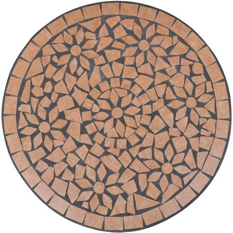 tavoli in ceramica tavolo in ceramica con mosaico 60 cm vidaxl it