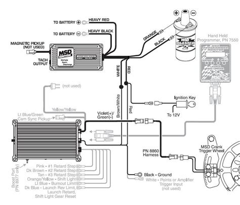 mallory pro comp ignition wiring diagram basic tractor