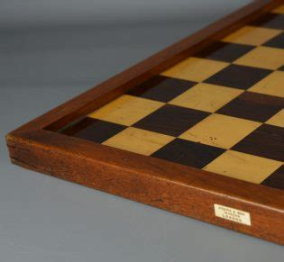 ref1408 jaques chess board. antique chess shop