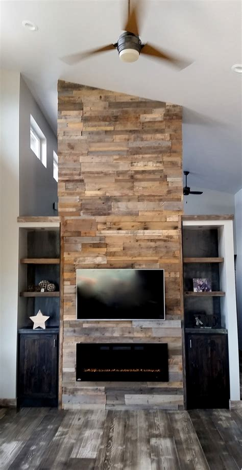 reclaimed wall adding a reclaimed wood wall sustainable lumber company