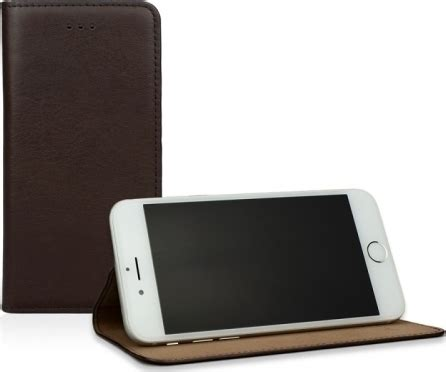 Mocca Leather Wallet caseual leather wallet italian mocca iphone 6 6s plus