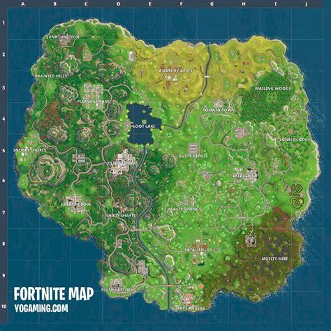 fortnite island name fortnite battle royale map 2 0 yogaming