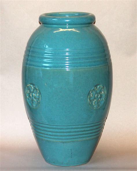 Large Vases And Urns by Large Vintage Bauer California Pottery Garden Urn Jar