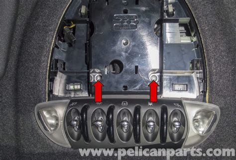 Mini Cooper Interior Lights Not Working by Mini Cooper R56 Roof Switch Replacement 2007 2011 Pelican Parts Diy Maintenance Article