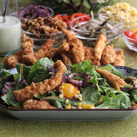 buttermilk fried calamari salad with cantaloupe vinaigrette buttermilk marinated fried chicken salad with buttermilk