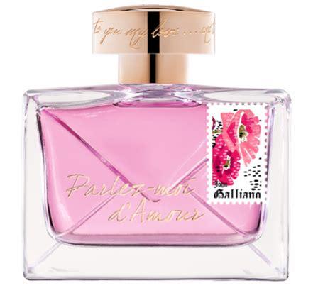 Parfum Original Galliano Parlez Moi Damor Eau Fraiche Edt galliano parlez moi d amour new perfume perfumediary