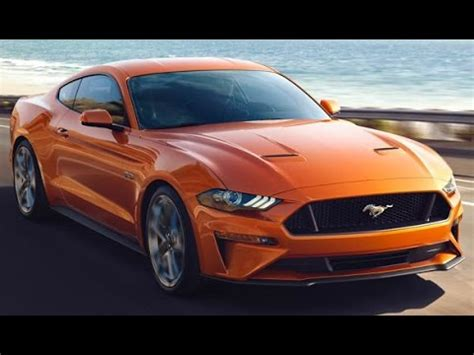 2018 ford mustang 2.3l ecoboost & 5.0l v8 youtube