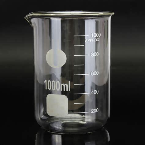 Beaker Glass 250ml 250ml 400ml 1000ml chemistry laboratory beaker borosilicate measure glass beaker