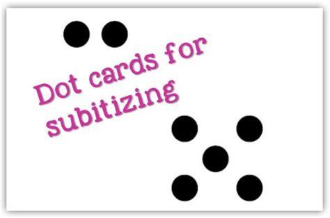 Math Dot Card Templates by 17 Best Images About Early Numeracy And Additive
