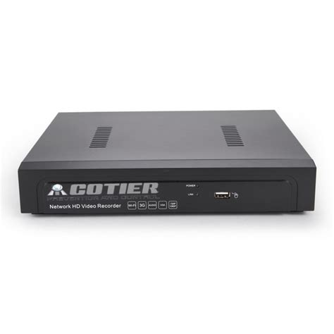Cotier N4b3 Kit Poe Outdoor P2p H 264 1080p Hasil Jernih cotier 8 ch poe nvr 960p poe and play ip nvr