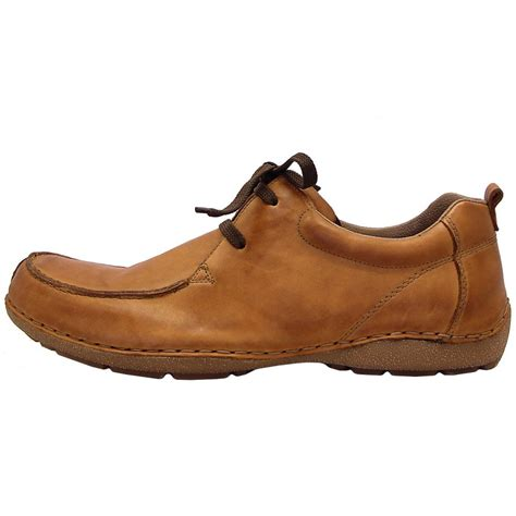 rieker ansgar s casual lace up shoes in brown