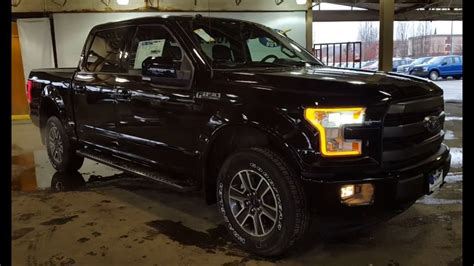 Gw 150 Family Edition 2017 black ford f 150 4x4 supercrew lariat fx4 sport review prince george motors