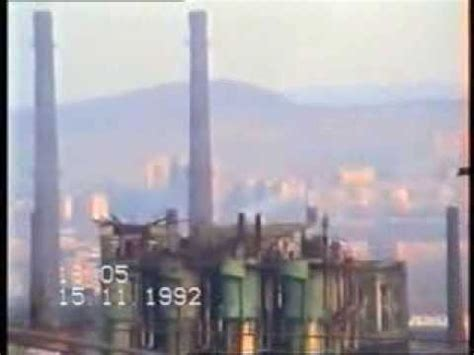 combinatul siderurgic hunedoara 1992 youtube