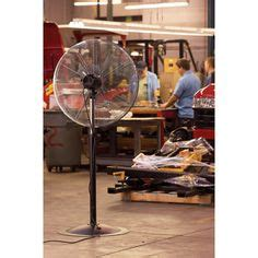 large fans for gyms this q standard oscillating wall mount fan spreads more