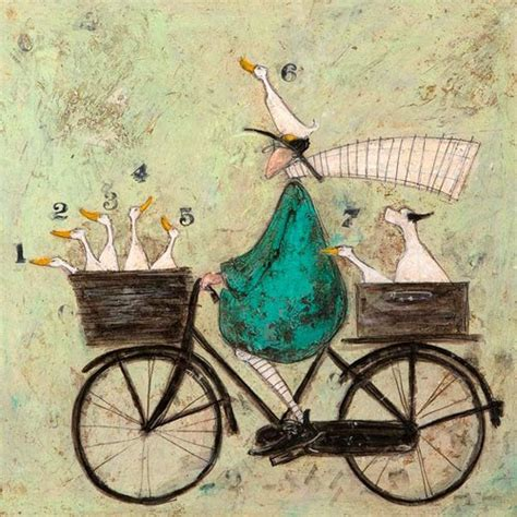 Poster Vintage V052 all aboard the ducky express by sam toft